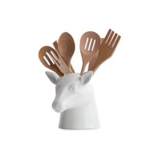 Idea regalo Portautensili a forma di testa di cervo