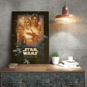 Regalo Poster di metallo Star Wars  Una Nuova Speranza