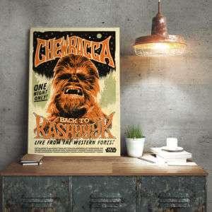 Regalo Poster di metallo Star Wars – Chewbacca