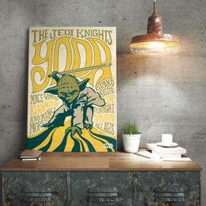 Regalo Poster di metallo Star Wars  Yoda