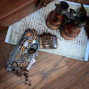 Idea regalo Pistola Steampunk di Cioccolato