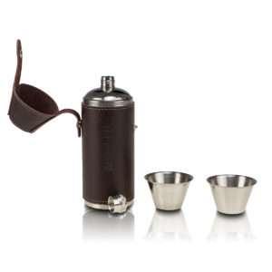 Idea regalo Set borraccia e bicchierini personalizzabile con incisione