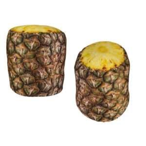 Idea regalo Fermaporta ananas in stoffa