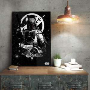 Regalo Poster di metallo Star Wars  Slave 1 Boba Fett