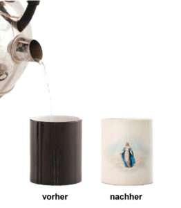 Idea regalo Tazza magica della Madonna