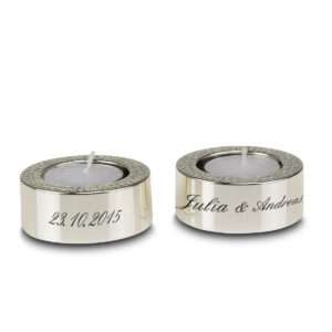 Idea regalo Porta candeline Diamante personalizzabile con incisione