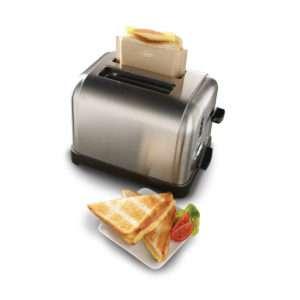 Idea regalo Set di 3 sacchetti per toast