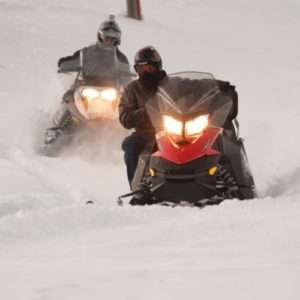 Idea regalo Tour guidato in motoslitta in Alta Valtellina – Livigno, Sondrio