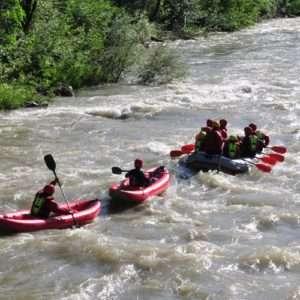 Idea regalo Tour rafting facile sul fiume Rienza – Val Pusteria, Sud Tirolo