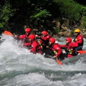 Idea regalo Tour rafting medio-difficile sul fiume Isarco – Sud Tirolo