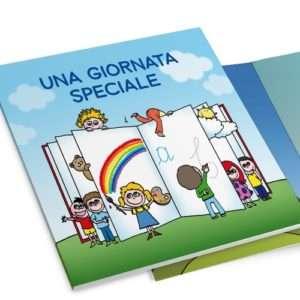 Idea regalo Una giornata speciale, libro personalizzato – online