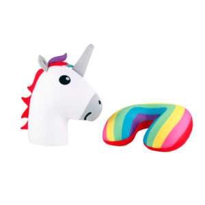 Idea regalo Comodo cuscino reversibile a forma di unicorno