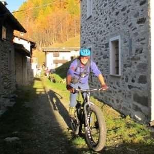 Idea regalo Valtellina in Fat Bike Elettrica – Sondrio