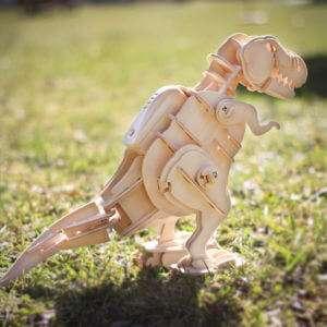 Regalo T Rex Fai da Te  kit di montaggio in legno