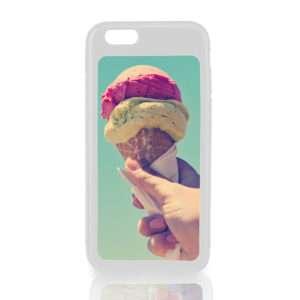 Idea regalo Cover bianca per iPhone 6 personalizzabile con foto