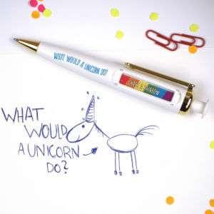 Regalo Penna Oracolo Unicorno