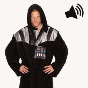 Regalo Accappatoio Darth Vader con suoni