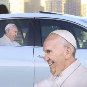 Idea regalo Adesivo da finestrino  Papa Francesco