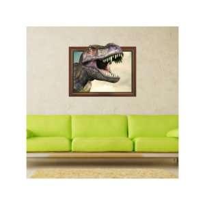 Regalo Adesivo da Muro 3D Dinosauro