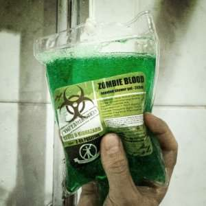 Idea regalo Bagnoschiuma Zombie