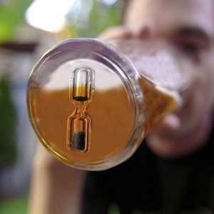 Idea regalo Bicchiere con clessidra