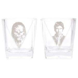 Idea regalo Bicchieri Han Solo e Chewbecca