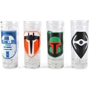 Idea regalo Bicchierini di Star Wars  serie 3