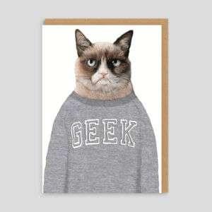 Idea regalo Biglietto di auguri Grumpy Cat