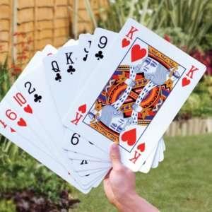 Idea regalo Carte da gioco giganti