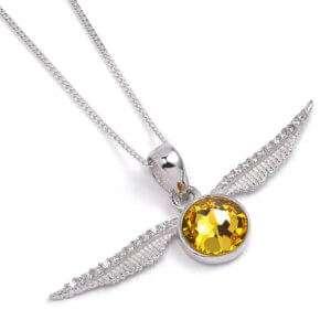 Idea regalo Collana Boccino d`Oro con Swarovski
