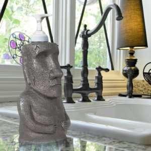 Regalo Dispenser di sapone Moai