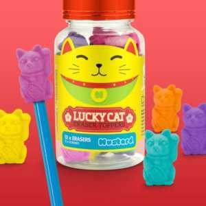 Idea regalo Gomme Lucky Cat