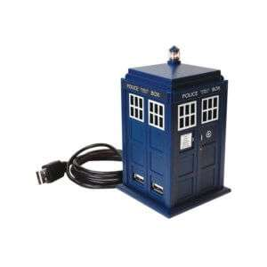 Idea regalo Hub USB Doctor Who TARDIS