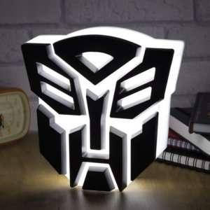 Regalo Lampada Transformers
