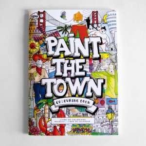 Idea regalo Libro da colorare Città del mondo