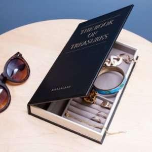 Idea regalo Libro nascondi gioielli