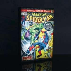 Idea regalo Luminart Spider-Man vs Hulk