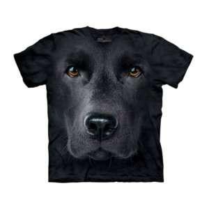 Regalo Maglietta Big Face Labrador Nero – Bambino
