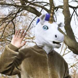 Idea regalo Maschera Unicorno Parlante