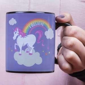 Idea regalo Mug cambia colore Unicorno