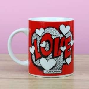 Regalo Mug Comic Love