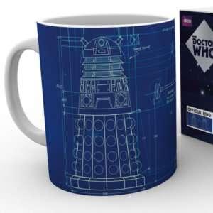Idea regalo Mug Dalek Blueprint