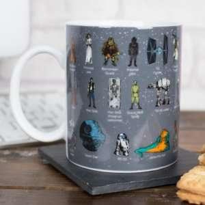 Idea regalo Mug glossario Star Wars