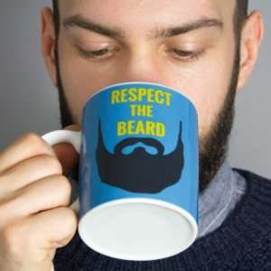Idea regalo Mug Respect the Beard