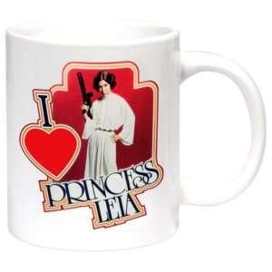 Idea regalo Mug Star Wars – I Love Princess Leia