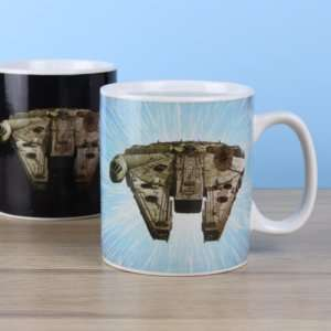 Idea regalo Mug termosensibile Millennium Falcon