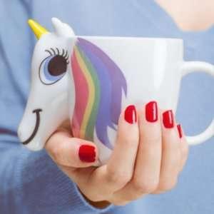 Idea regalo Mug termosensibile unicorno