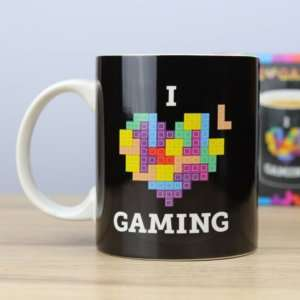 Regalo Mug Tetris – I Love Gaming