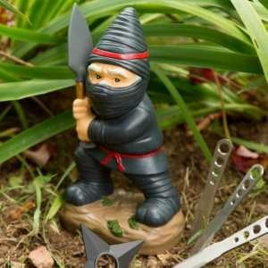 Idea regalo Nano da giardino Ninja