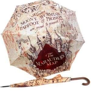 Regalo Ombrello Mappa del Malandrino
